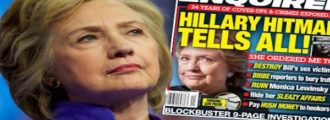 National Enquirer Fixer UPDATE: Hillary is A Bi-Sexual Sex Fiend- Bubba Went to Night Court W/ Markie Post?